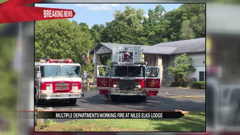 Fire at Elks Lodge in Niles caused by attempt to exterminate bees