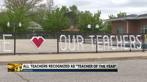 Every teacher in Indiana recognized as Teacher of the Year