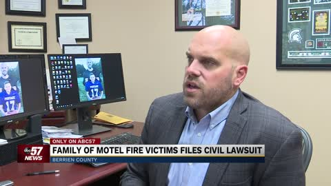 Family of Berrien County motel fire victims files civil lawsuit