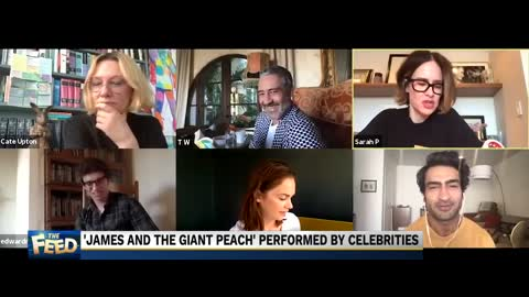Celebrities and the Giant Peach
