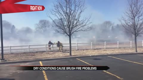 Fire crews respond to over 50 grass fires in one week