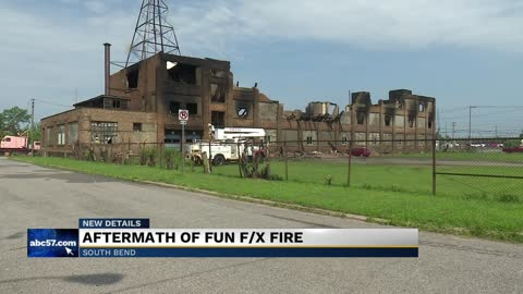 Fire damages warehouse causing thousands in losses