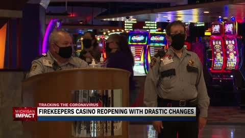 FireKeepers Casino reopening with drastic changes