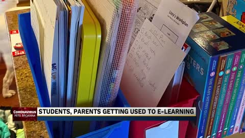 Parents, students adjusting to e-learning in Michiana