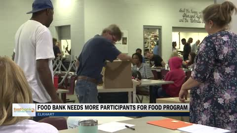 Food Bank of North America seeking extra participants for local food program