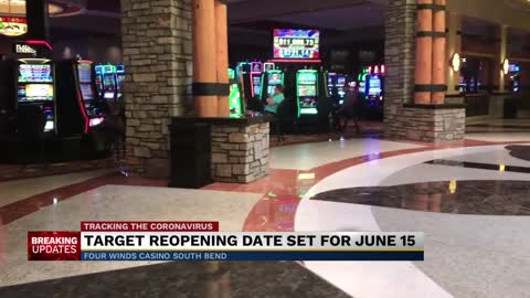 Four Winds Casino targeting June 15th for tentative reopening