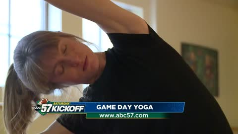 Game Day Yoga provides wellness opportunity on game days