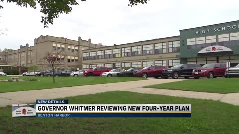 Governer Whitmer to review submitted proposal that would save Benton Harbor Schools