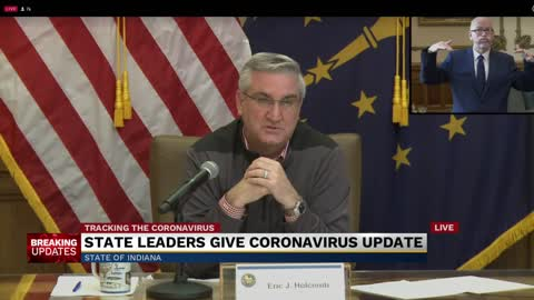 Governor Holcomb extends stay at home order to April 20