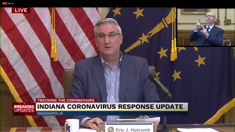 Governor Holcomb shares update to Indiana's COVID-19 response