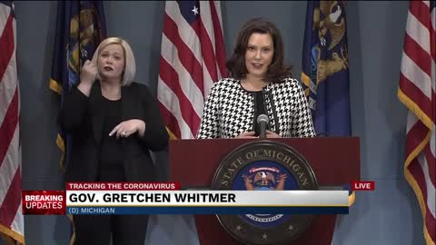 Governor Whitmer provides update to COVID-19 response