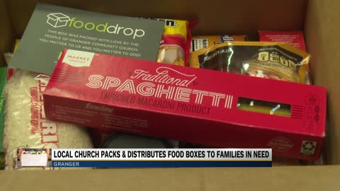 Granger Community Church hosts annual food drop