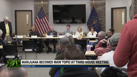 Greater Elkhart Chamber of Commerce discusses medical marijuana...