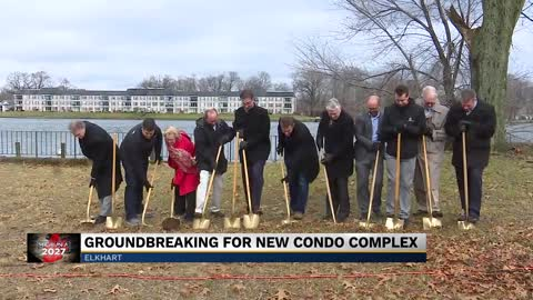 City of Elkhart breaks ground for new condo complex