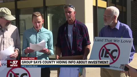 Group says county hiding info about investment