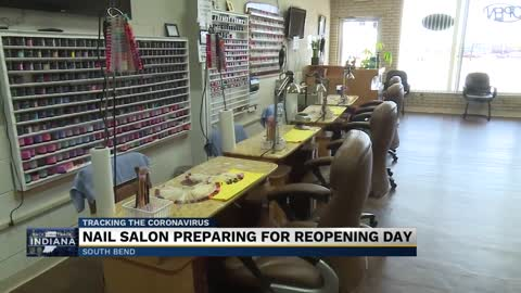 Hair, nail salons are preparing for reopening Monday