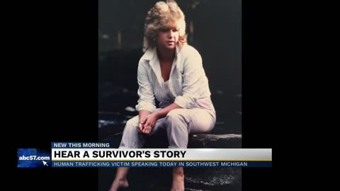 Hear a survivor from human trafficking's story