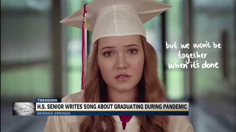 High school senior writes song about graduating during pandemic