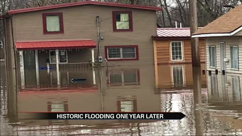 Marshall County community reflects on historic flooding one year later