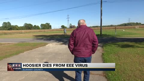 Hoosier dies from EEE virus Saturday