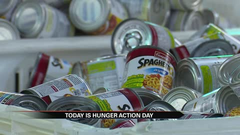 Hunger Action day brings awareness to community-wide hunger