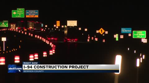 I-94 resurfacing project in Berrien County set to begin Monday