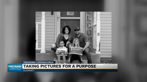 Elkhart photographer taking 'porch pictures' to raise funds...