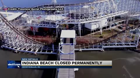 Indiana Beach closed, no plans for it to reopen