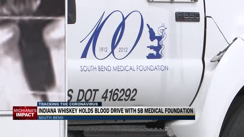 Indiana Whiskey Company holds blood drive in South Bend