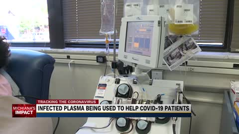 Recovered COVID-19 patient plasma being used to help other patients...