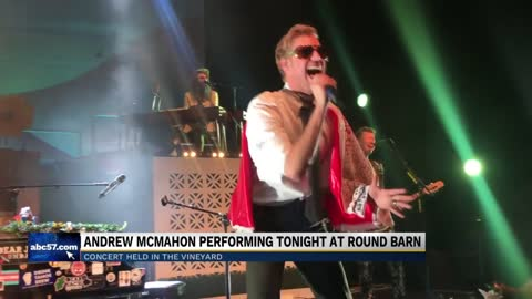 Round Barn holding first concert with Andrew McMahon in the Wilderness
