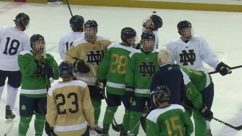 Notre Dame hockey rested and ready for postseason run
