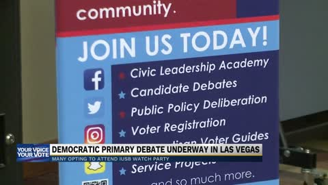 IU South Bend students weigh in on Democratic presidential debate