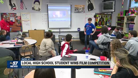 John Adams student wins state competition for screenplay