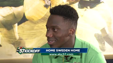 Jordan Genmark Heath explains his path from Sweden to Notre Dame