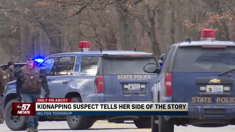 Kidnapping suspect says it wasn't a kidnapping