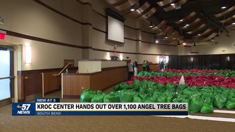 Kroc Center in South Bend donates over 1100 gift bags