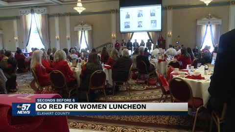 Go Red For Women luncheon focus on heart health