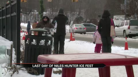 Niles ice festival goers brave the extreme temperatures on Sunday