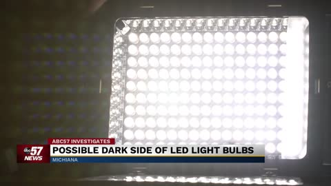 LED lighting a growing industry, but bright lights could be causing health problems