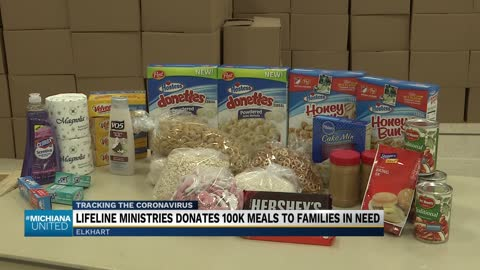 Lifeline Youth Ministries distributes 1,000 boxes of food to...