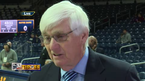 Live with Bobby Cremins: Notre Dame vs NC State