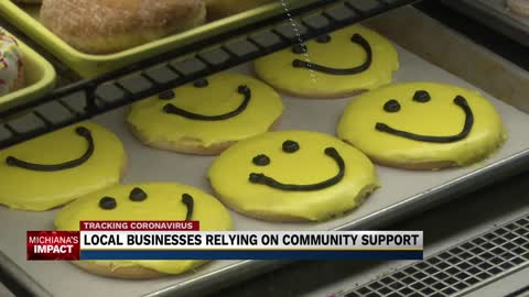 Local businesses relying on community support