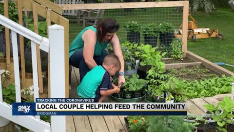 Local couple helping feed the community