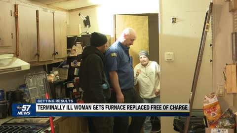 Local furnace company steps in to help terminally ill woman