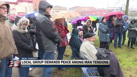 Local group demands peace among Iran tensions