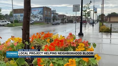 Local project helping neighborhood bloom