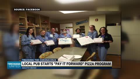 Local bar donates food to hospital workers