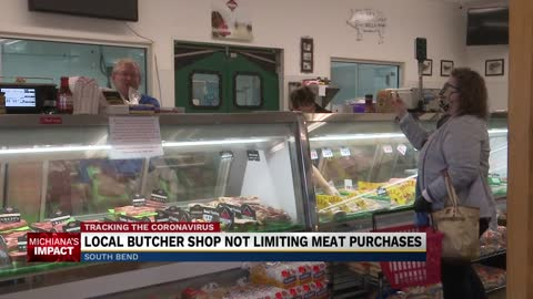 Local South Bend meat shop not limiting meat purchases