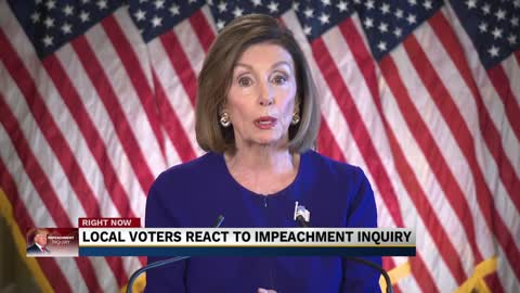 Local voters and lawmakers react to impeachment inquiry